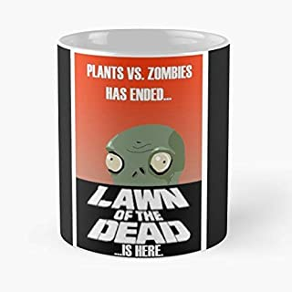 Plants Vs Zombies Zombie Dawn Of The Dead C Simple 110z Novelty Coffee Mugs