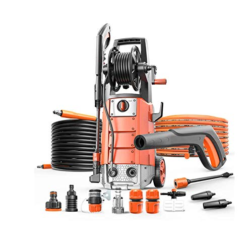 yankai Pressure Power Washer,High-pressure Cleaner, Peak Pressure 160t/bar, Rated Flow 6.7l/min, Suitable For Cleaning Automobile Air Conditioning Garden Irrigation