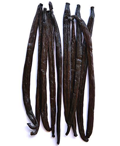 Native Vanilla - Gousses fraîches de vanille - Gourmet/haute qualité - 10 gousses 14 à 20 cm