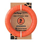 Dog Training Ring Fitness Tool Flying and Floatable Disc Interactive Pet Toy for Small Medium Large Dogs (Small to Medium)