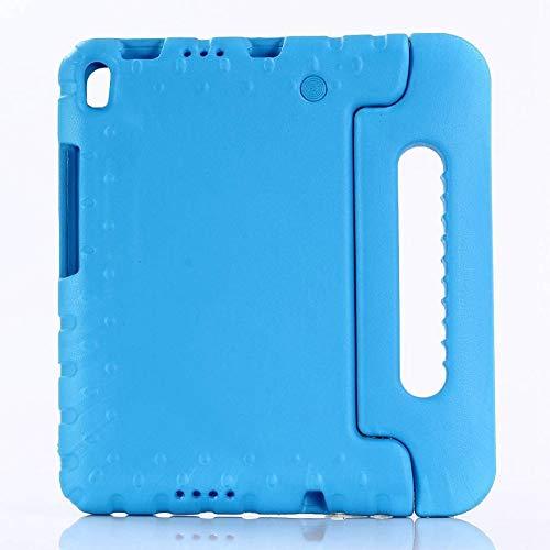 QiuKui Tab Funda para Lenovo Tab 4 8 Plus, Kids A Prueba de Golpes EVA Protector de Soporte de Mano Cubierta de Tableta Segura para niños para Lenovo Tab 4 8 Plus TB-8704F TB-8704N (Color : Azul)