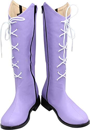 Sailor saturn cosplay boots _image4
