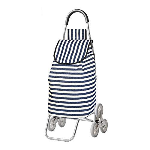 Draag ronde ladders van aluminiumlegering en schuifstang om je bagage te openen, om levensmiddelen te kopen.