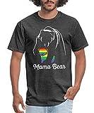 ZLASS Proud Mama Bear LGBT Men's T-Shirt