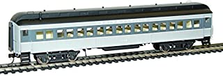 Rivarossi HR4196 Ho Scale Pullman 60' Baggage #1702 Union Pacific Train Ho Pullman 60 Foot Baggage, Gray