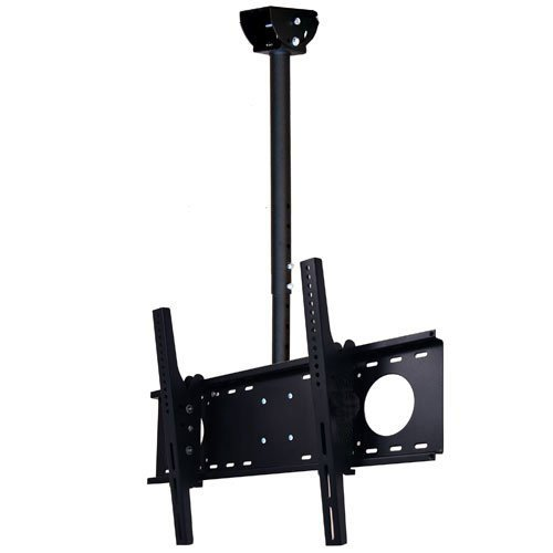 "VideoSecu LCD Plasma Flat Panel TV Ceiling Mount Bracket for Most 37-60"" Plasma TV Flat Panel Displays, Some up to 75"" LED TV with VESA 200x200 400x400 600x400 680x460mm MPC53B 1S5"