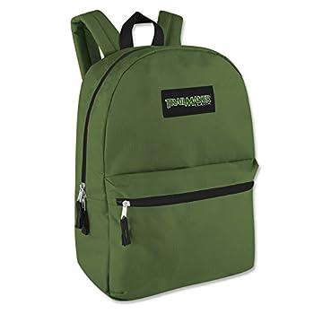 17 Trailmaker Backpack Bookbag,One Size,Green