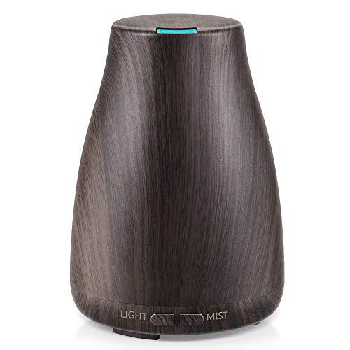 WO NICE Etherische oliediffuser ultrasone aromatherapie geurolie diffuser verdamper luchtbevochtiger timer en waterloze Auto-Off