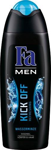 Fa Men Duschgel Kick Off Wasserminze, 6er Pack (6 x 250 ml)
