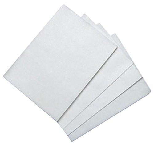 Bakery Crafts Papel de arroz y obleas comestible BC WFS-0811, 100 unidades, 20 x 28 cm, blanco