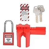 Lock Lock Kit, Lockout Candado Kit Excelente Mano De Obra Robusto Y Duradero Productos Químicos Industriales/Energía Eléctrica/Petróleo