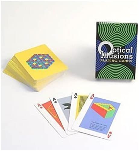 US Games Optical Illusions Card Game by US Games