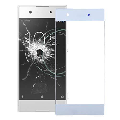 Sony Spare Obiettivo di Vetro Esterno dello Schermo Anteriore for Sony Xperia XA1 Sony Spare (Colore : Bianca)