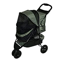Pet Gear No-Zip Stroller for Pets