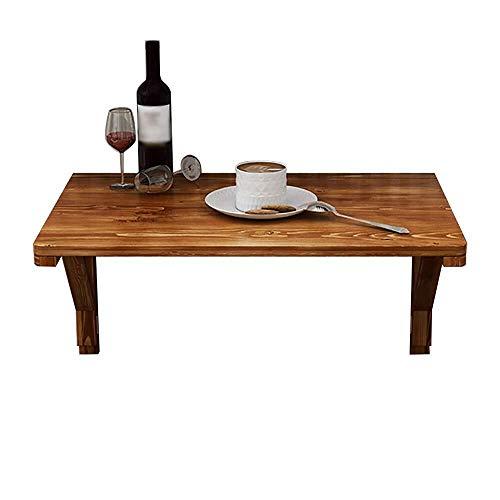 Mesa de centro Mesa plegable mesa de estudio escritorio de la computadora del soporte de madera Futaba baja de la pared 13 tablas de dimensiones mesas de cocina de pared portátil mesa plegable opciona