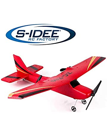 s-idee/® 01925 RC Aeroplane S50 Remote Control with 2.4 GHz Technology with Lipo Battery