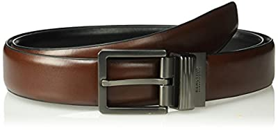 Kenneth Cole REACTION Men's Reversible Comfort Stretch Casual Belt,brown/black,Xlarge