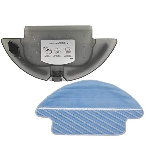 REYEE 1x Tanque de Agua + 1x paño de fregona para Cecotec Conga Serie 3090 Robot Aspirador Repuestos para Tanque de Agua