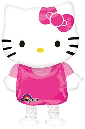 Anagram International Hello Kitty Ballon Buddy Air Walker, mehrfarbig