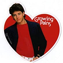 Ripple Junction Growing Pains Mike Seaver Heart Sticker