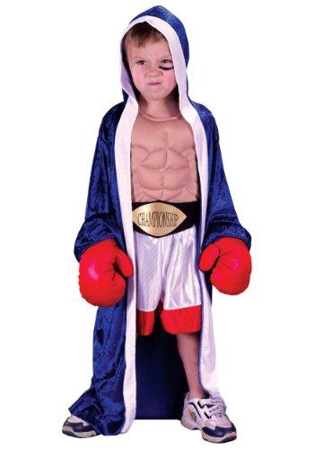 Fun World Toddler Boxer Costume Small (24mo - 2T)