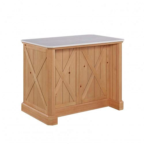 Country Lodge Pin Kitchen Island by Home Styles