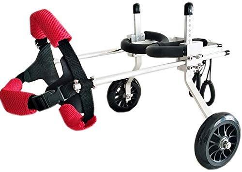 LXYZ Roller für Haustiere, große Hilfshalterung Rollstuhl Gelähmter behinderter Hund Aluminiumlegierung Ultraleicht anpassbar Gemeinsam Gemeinsam Kostenlose Installation Einstellbar