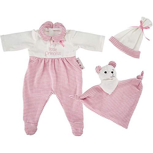 Käthe Kruse 0136820 Schlafanzug Set rosa 30-33 cm