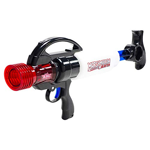 Zing Marshmallow Blaster Classic, Extreme Blaster, Shoots Marshmallows Up to 40 feet, Indoor and Outdoor Play with Friends