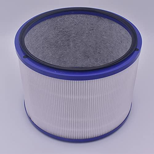 Toopower 1 Unidad de Filtro purificador de Aire DP01 Accesorio púrpura para Dyson fría y Limpia Enlace Ventilador estación de Limpieza de Aire Piezas del purificador de Aire (Color : For Dyson DP01)