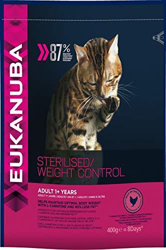 Eukanuba Croquette pour Chat Stérilisé 0,4 kg