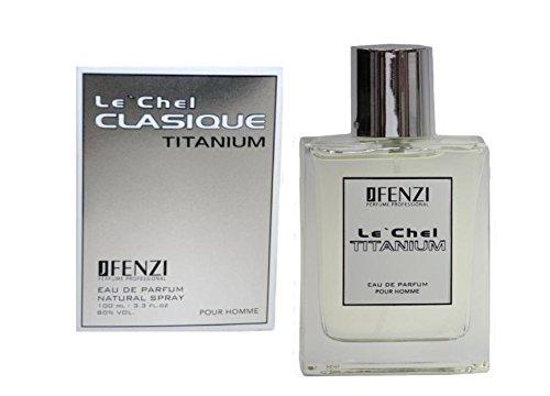Fenzi Le Chel Clasique Titanium POUR HOMME Eau de Toilette 100 ml