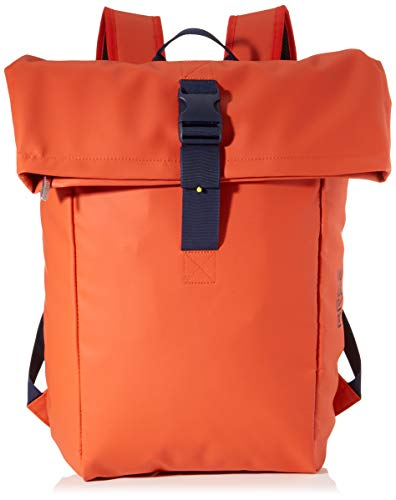 BREE Unisex-Erwachsene PNCH 93 Backpack M Rucksack, Orange (Pumpkin), 12x46x41 cm