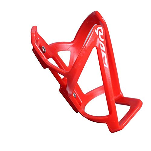 Bicycle Bottle Cage 2PCS Holder Rack Bracket Cube Lightweight PC Plastic Road Bike Mountain Bike Water Bottle Cage Holder Universal Adjustable Accessories For MTB Bike Riding Equipment Black Red White