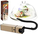 Mazonia Portable Infusion Smoker Gun: For Kitchen Indoor/Outdoor | For Meat,Sous Vide, Grill, BBQ, Cocktail Drinks & Cheese. Uses Real Wood Chips (Gold)
