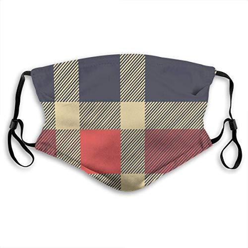 Patrón de tartán escocés de Cuadros Vintage con líneas de Cuadros