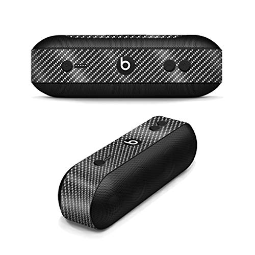 MightySkins Glossy Glitter Skin for Beats Pill Plus - Carbon Fiber | Protective, Durable High-Gloss Glitter Finish | Easy to Apply, Remove, and Change Styles | Made in The USA