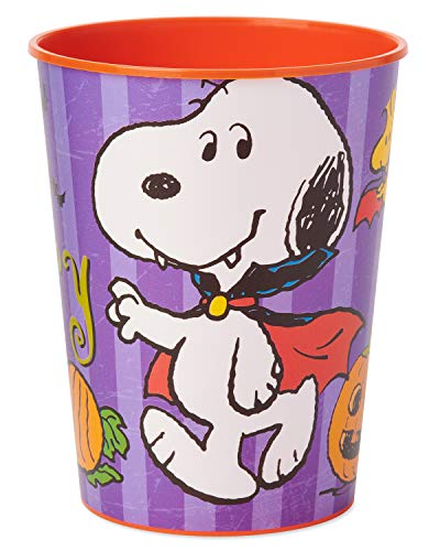 American Greetings Kids Halloween Party Supplies, Snoopy Party Cups (8-Count)