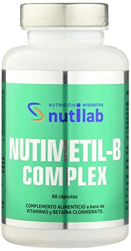 Nutilab Nutimetil-B Complex - 60 Cápsulas