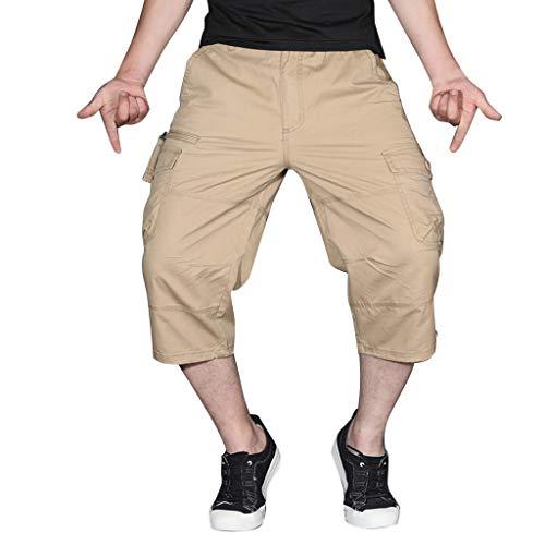 Herren Sommer Style Mode-Outdoor-Sportarten Overalls Mit Mehreren Taschen