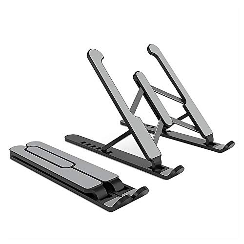 Laptop stand Computers Collapsible Portable Stand Ventilation Cooling Rack Height Adjustable Computer Stand Ergonomically Designed For PC Notebook System