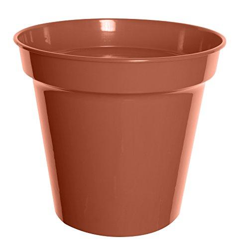 Whitefurze G04024 25cm Garden Pot - Terracotta