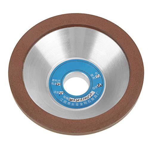 Schleifscheibe, 1 Stk. 120er Körnung 100 mm Diamantschleifscheibe Topfschleifscheibe Schleifzubehör zum Schleifen von spröden Materialien