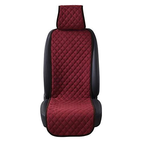 Romantische nacht 99 auto stoelhoezen cover auto stoel kussen universele nano katoen fluweel doek auto stoelhoezen past de meeste auto of SUV auto styling Red seat cushion