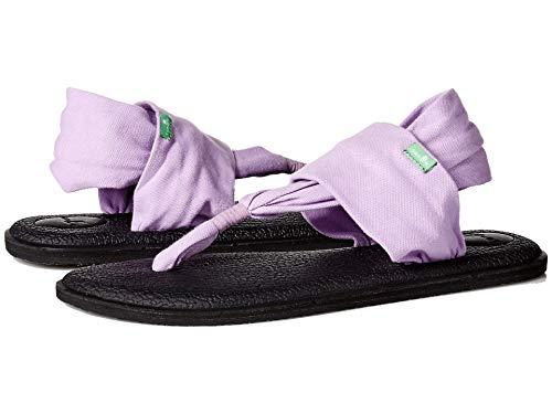 Sanuk Yoga Sling 2 - Sandalias para mujer, Negro (lavanda), 42.5 EU