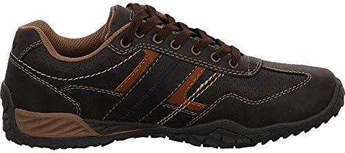 Dockers by Gerli Herren Sneaker Schwarz, Braun, Grau, Weiß, Natur, Schuhgröße:EUR 42, Farbe:Brauntöne