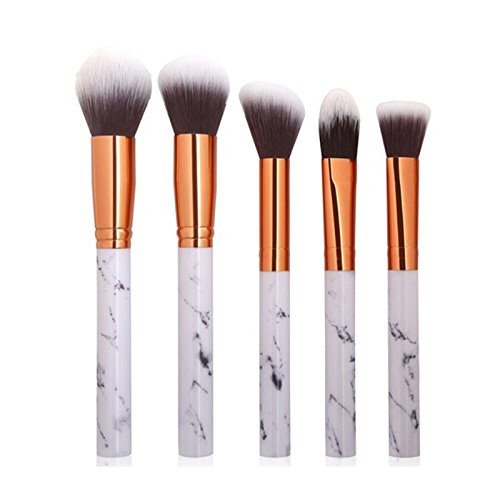 Wolfleague Pinceau De Maquillage Professional Maquillage Set De Brosse Maquillage Kit De Toilette Set De Brosse Cadeau Pratique à Transporter (A)