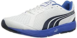 Puma Men's Descendant v1.5 Running Shoes, Black (black-white 03), 42 EU