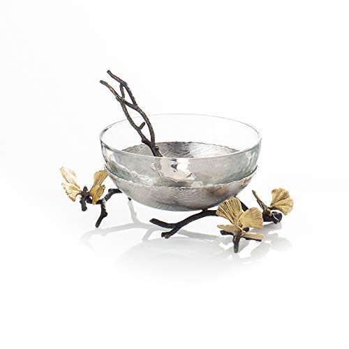 Michael Aram Butterfly Ginkgo Nut Dish With Spoon