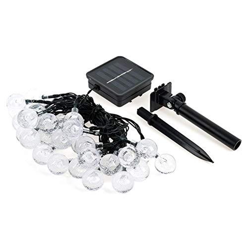 Luces La luz LED de cristal bola de la lámpara solar LED...